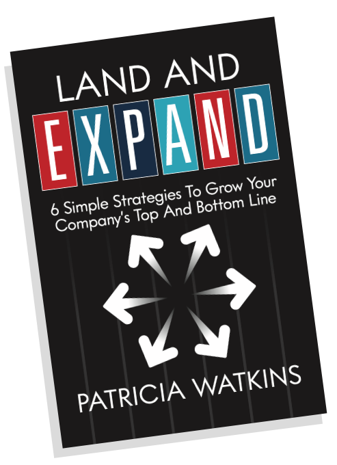 Patricia Watkins new book on land and expand sales strategies