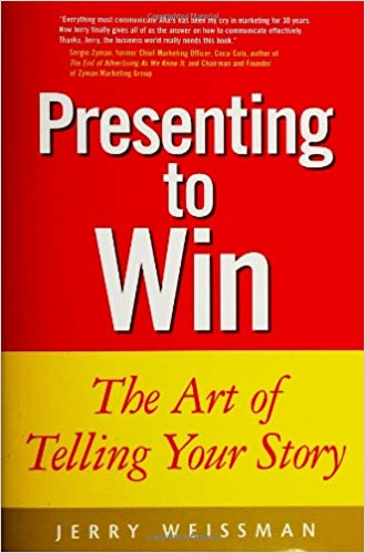 Weissman's Presenting to Win details his Understand Believe Act Model
