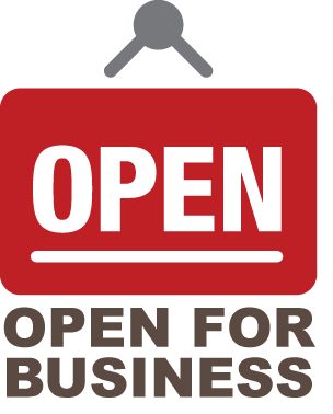 open for business stage