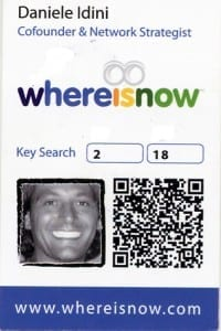 Where Is Now Business Card