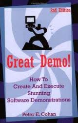 Peter Cohan's Great Demo offers guidance for extracting insights from a competitor's demo