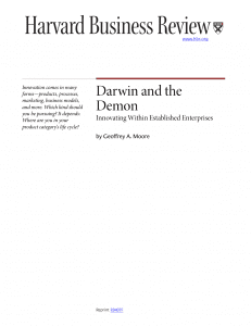 Moore's Darwin and the Demon HRB article