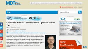 Medical Design Technology (MDT) features Walt Maclay