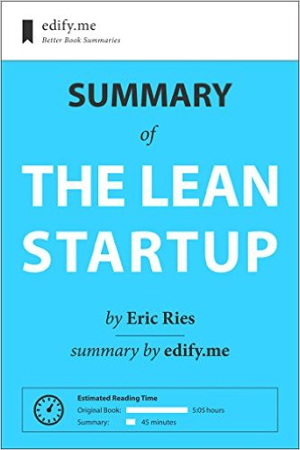 E-Book Summaries For Lean Startup