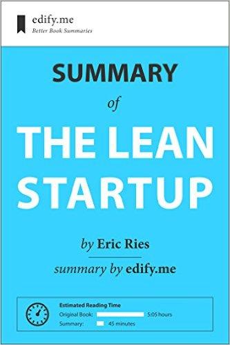 E-Book Summaries For Lean Startup