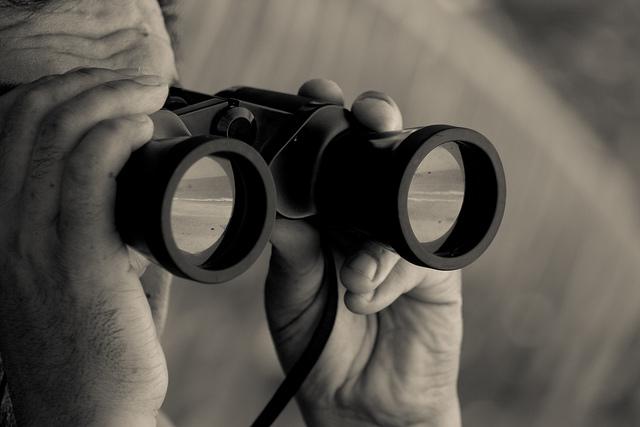 Binoculars by Edith Soto