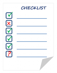 Checklist for Gathering Competitive Insight From a Demo