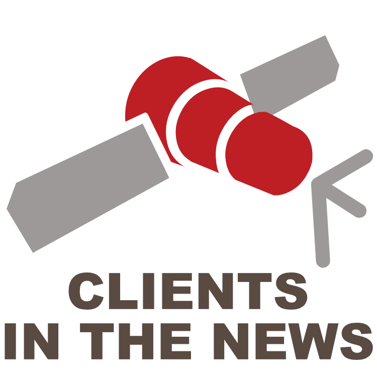 Clients in the news