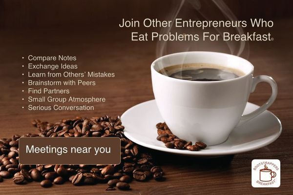 Entrepreneurs Eat Problems for Breakfast at a Bootstrappers Breakfast