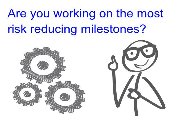 Risk Reducing Milestones