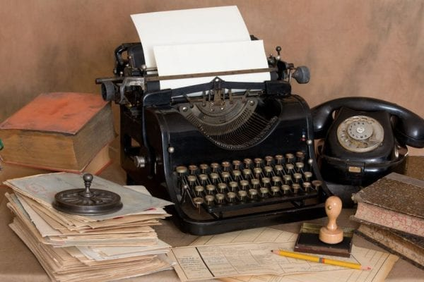 We believe the typewriter is obsolete. Let's prove it inside before we try to convince our customers.