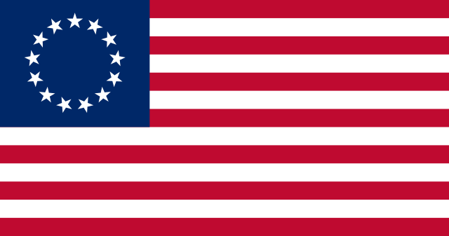 Flag of the United States (1777-1795)