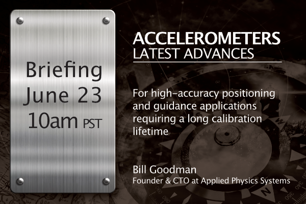 Accelerometers: Latest advances for high-accuracy positioning and guidance applications requiring a long calibration lifetime