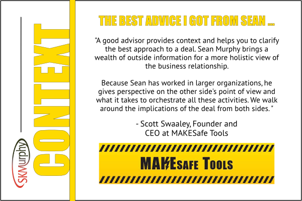 Scott Swaaley: a good advisor provides context