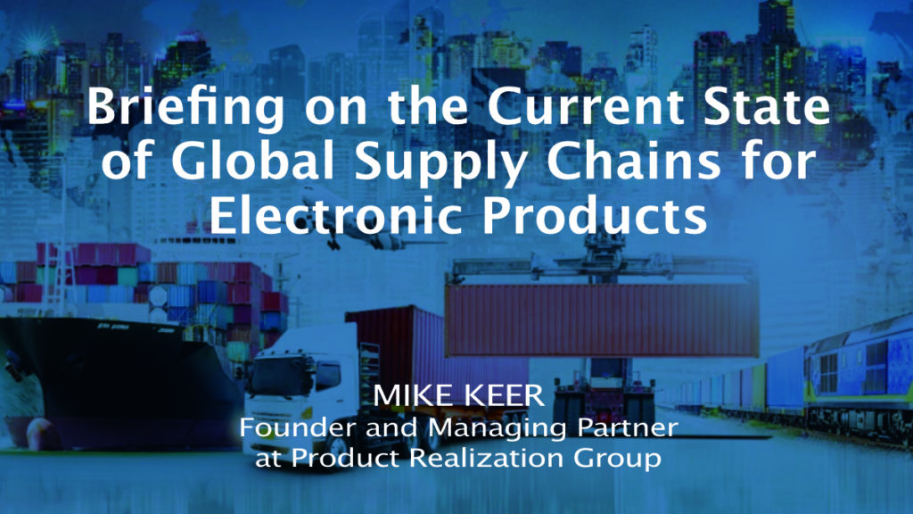 Michael Keer on Supply Chain